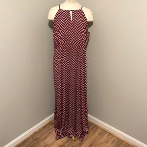 Striped Maxi Loft Dress